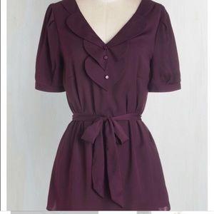 Mod Cloth Purple Top